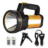 LED Handscheinwerfer Wiederaufladbar, Super Hell 7000 Lumen Led Taschenlampe, 5 Modi Wasserdicht...