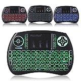 Leelbox Mini Tastatur mit Touchpad Maus PC Fernbedienung 2.4Ghz QWERTZ Deutsch Wireless Keyboard...