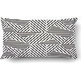 Ducan Lincoln Pillow Case Kissenbezüge Muster Stilvolle Wiederholen Geometrische Fliesen...