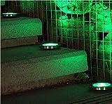 HANBIN 1pc Solar Ladepromenade begraben Garten Nachtlicht wasserdichte Garten Eingang...