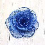 BAISHIU 2 Stück/Rose Blume Blume Haarspange Mädchen Haarschmuck Kinder Haarschmuck