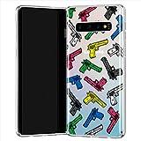 Lex Altern TPU Hlle fr Samsung Galaxy S20 Plus 5G S10e Note 10 9 Farbig Waffe Durchsichtig Flexibel...