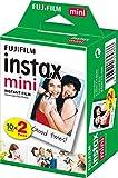 Fujifilm Instax Mini Instant Film, 2x 10 Blatt (20 Blatt), Wei