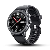 BYTTRON Smartwatch, 3,3 cm (1,3 Zoll) voller Touchscreen, wasserdicht, Fitness-Tracker mit...