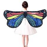 Frashing DIY Schmetterlingsflügel Butterfly Schal und Farbstift Kind Baby Mädchen Schmetterling...