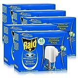 5x Raid Mücken Stecker und Nachfüller für ca. 45 Nächte Mückenfrei