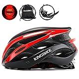 KING BIKE Fahrradhelm Helm Bike Fahrrad Radhelm mit LED Licht FR Herren Damen Helmet Auf Die Helme...