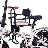 Fahrradsitz Vorne Für Kinder, Kindersitz Fahrrad Abnehmbar Fahrradkindersitz Vorne Mit Pedal Und...