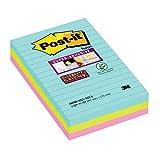 Post-it, Farbige Haftnotizen, Sticky Notes in der Miami Kollektion, Bunte Klebezettel und...