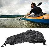 Tbest Kajak Spritzdecke Spritzschutz Nylon Universal Verstellbarer Kajak Kayak Boat Spray Skirt...
