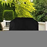 Anti UV BBQ Cover, Grill Abdeckhaube, Schwerlast 600D Oxford Stoff gasgrill Wasserdicht Gasgrill...