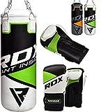 RDX Kinder Boxsack Set Gefüllt Kickboxen MMA Kampfsport Muay Thai Boxen mit Kette Training...