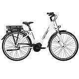 Atala E Damenrad 700c B-Easy X-Wave Pedelec Bosch Hollandrad Citybike 28' E-Bike (wei, 45 cm)