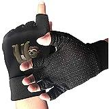 Zaleraith Bike Half Finger Handschuhe Faultier Männer Frauen Anti-Rutsch-stoßabsorbierende Gym...