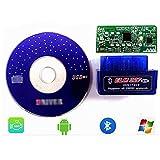 DOFCOC Mini-OBD2-Bluetooth-Scanner für CAN-Bus mehrerer Marken wie ELM327-Bluetooth.