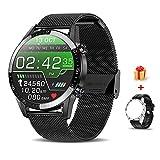 Voigoo Smartwatch (2021 neu) 1.3' Touch Screen Herren Damen Intelligente Uhren Sport  ...