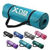 Xn8 Yogamatte Gymnastikmatte Fitnessmatte |183 x 61 x 1,5cm NBR Sportmatte für Pilates-Aerobic...