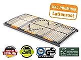 BMM Lattenrost XXL 7-Zonen, geräuschlose Trio HQ-Kappen, Antirutsch-Bolzen, SchulterPLUS Zone...
