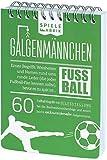 Spiel Fußballfan GALGENMÄNNCHEN | Rate 60 Fussball-Begriffe | Fußballgeschenk für Jungs |...