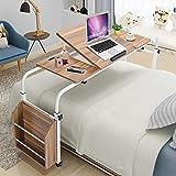 Ejoyous Computertische Beistelltisch mit Rollen Höhenverstellbar Schreibtisch, Bürotisch,...