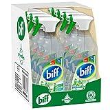 Biff Pro Nature Badreiniger, Sprühflasche, 8 x 750 ml, mit 99,9 Prozent naturbasierten...