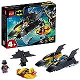 LEGO 76158 DC Super Heroes Verfolgung des Pinguins – mit dem Batboa