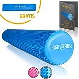 High Pulse Pilates Rolle – Die multifunktionale Schaumstoffrolle zur Muskelkräftigung, Fitness...