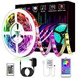 LED Strip, L8star LED Streifen Farbwechsel LED Strip Lichtband RGB Flexible LED Bänder Strips mit...