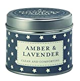 The Country Candle Company Superstars Kollektion Bernstein und Lavendel Candle Kerze in Dose,...