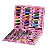 JACINTA 150 Stück/Set Kinder Kunst Set Kinder Zeichnen Aquarellstift Buntstifte Ölpastell...