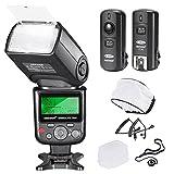 Neewer®PRO i-TTL Flash *Deluxe Kit* per NIKON DSLR D7100 D7000 D5300 D5200 D5100 D5000 D3200 D3100...