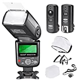 Neewer 750II TTL-Blitz Speedlite mit LCD Display Kit fr Nikon DSLR Kameras Enthlt: (1) 750II...