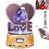 Kundengebundener Foto-Nachtlicht-Musik-Spieler Bluetooth, kundenspezifischer Mutter-und...