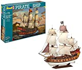 Revell Modellbausatz Schiff 1:72 - Piratenschiff im Maßstab 1:72, Level 5, originalgetreue...