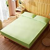 RESUXI matratzenschoner 90x414cm wasserdicht,Wasserdichter, einteiliger Bettbezug,...