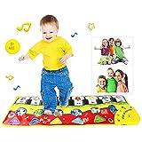 GAOYANZI Piano Musical Mat, Kinder Piano Playmat Touch Play Tastatur Musical Teppich Groß 70 * 27...