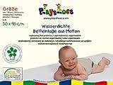 Playshoes 770213 Molton Betteinlage Kinderbett wasserdicht und atmungsaktiv, Oeko-Tex Standard 100,...
