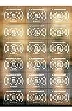 18 Stück Alarmanlagen Aufkleber, Warnzeichen alarmgesichert Aufkleber transparente Folie