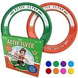 Activ Life Best Kids Wurfringe, Frisbees [Grün/Orange] Spielen Sie ultimative Wurf-Spiele mit...