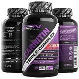 L-Carnitin Triple Komplex - 3000 mg je Tagesportion - Premium: Komplex aus Acetyl-l-carnitin,...