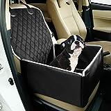 Toozey Hunde Autositz für Kleine Mittlere Hunde, [DAS ORIGINAL] Rückbank Vordersitz Hundesitz,...