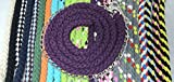 Pferdeseile_DE Führkette aus Baumwolle 2,75 mtr-viele Farben (BlackBerry)