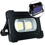 ERAY LED Baustrahler Akku 80W, LED Arbeitsleuchte Arbeitsscheinwerfer IP65 Wasserdicht / 2...