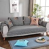 Hybad Sofa schoner,Couch schoner,schonbezug Sofa 2/3/4/5 Seater pet Sofa Couch Cover, Living Room...
