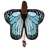 YBWZH Kostüme Karneval Kostüm Damen Schmetterling Umhang Bauchtanz Kostüm Schmetterlingsflügel...