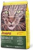 JOSERA NatureCat (1 x 10 kg) | getreidefreies Katzenfutter mit Geflügel und Lachs | Super Premium...