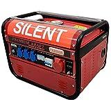 Kraft PK-8500W: Professioneller Generator Premium Stromerzeuger Notstromaggregat PK6500W 3.0kW 230V...