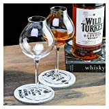 TingLiao 1920 Professionelle Blenders Whiskey Copita Nosing GlassTulip Bud Whiskey Kristall XO...