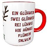Kinderlampenland personalisierte Tasse Glühweintasse EIN Glühwein. mit Rentier mit Wunschnamen...