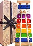 Jaques Von London Xylophon – Perfekt Spielzeug ab 1 2 3 Jahr Beinhaltet kostenlose Songblätter...